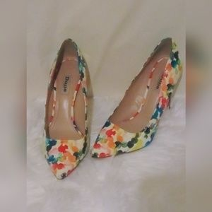 Dune London Spotted Colorful Heels EUR39